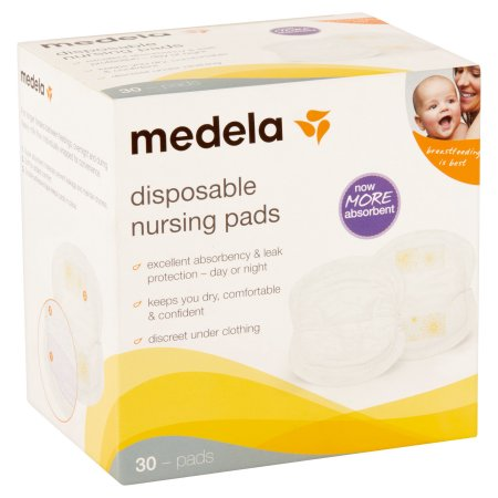 MEDELA Disposable Nursing Pads, box of 30 pcs| maternity|Halomama - HALOMAMA.com