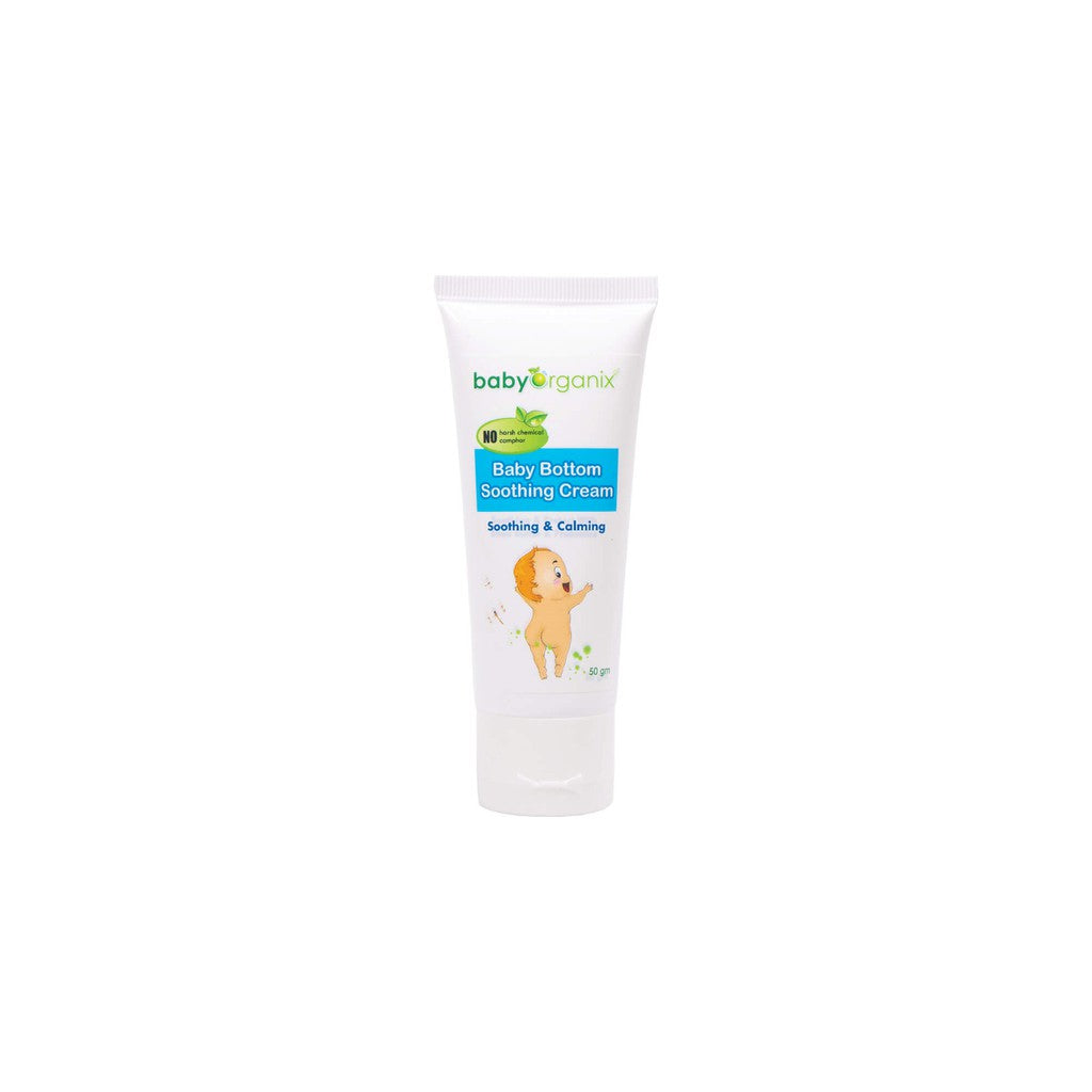 BABY ORGANIX BABY BOTTOM SOOTHING CREAM 50G