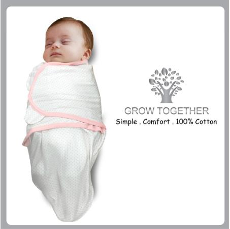 GROW TOGETHER Baby Swaddle
