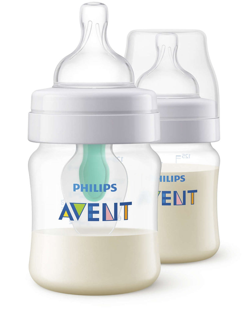 PHILIPS AVENT ANTI-COLIC WITH AIRFREE VENT 125 ML / 4 OZ (TWIN PACK)