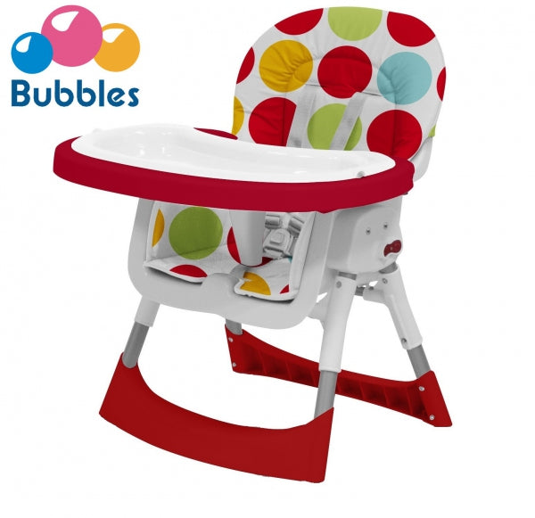 BUBBLES 2-IN-1 HIGH CAIR (6MTHS TO 3 YRS) MAX 15KG