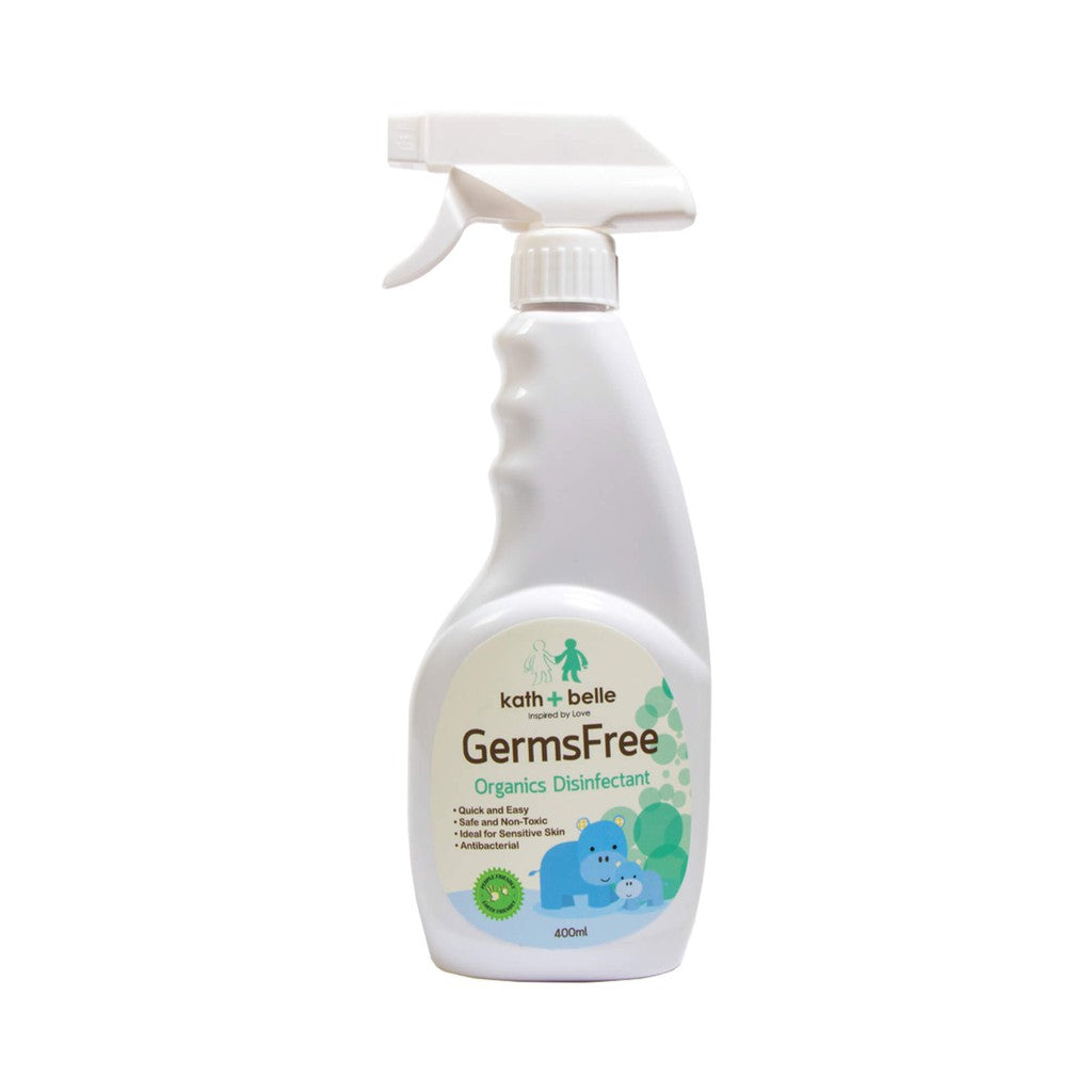 KATH + BELLE GERMS FREE ORGANICS DISINFECTANT (400ML)