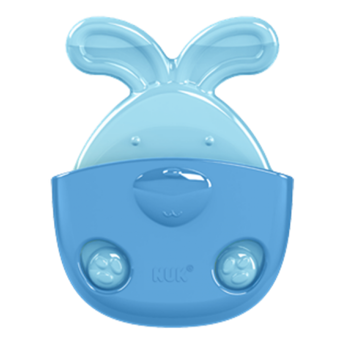 NUK BOOLING TEETHER WITH COVER BETTER / 2 IN 1 RABBIT 6+