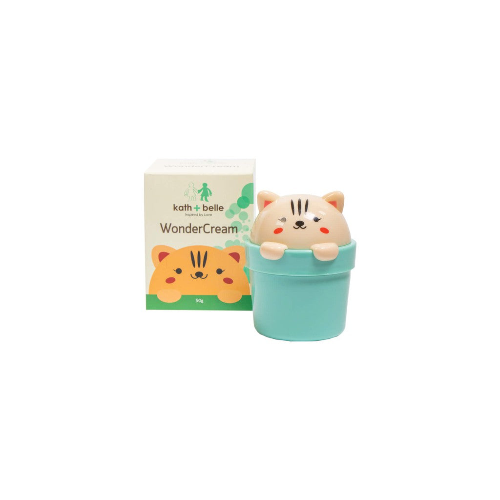 KATH + BELLE WONDER CREAM 50G -ADORABLE CAT!