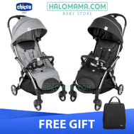CHICCO GOODY STROLLER - (COOL GREY / GRAPHITE)