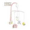 COMFY LIVING MUSIC MOBILE (BLUE DINOSAUR/SWEET FRUITS/PINK BUNNY)