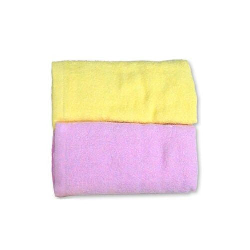BABYLOVE COTTON BABY TOWEL TWIN PACK