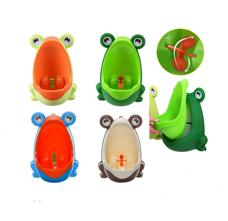Baby Boy Frog Potty Urinal Pee Toilet Bathroom Training