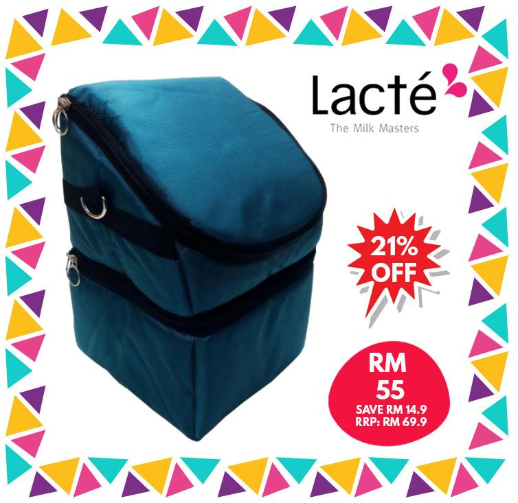 Lacte - Mobi Breastpump Cooler Bag ( Variations Design/Color )| cooler bag|Lacte - HALOMAMA.com