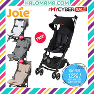 Gb Pockit Plus Stroller The World's Smallest Stroller - (With Full Canopy) + FREE 3D BODY SUPPORT WORTH RM109| Strollers|Halomama.com - HALOMAMA.com