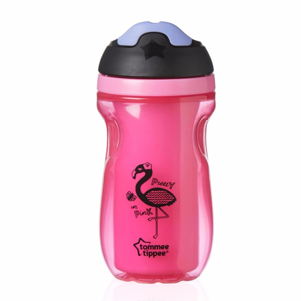TOMMEE TIPPEE INSULATED SIPPEE CUP 266ML(12M+) PINK| drinking|Halomama.com - HALOMAMA.com