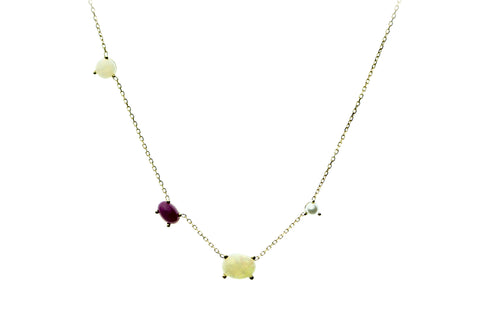 Ethereal Marquise Diamond Necklace