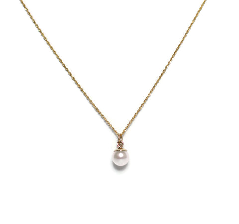 Jacqueline Pearl Necklace