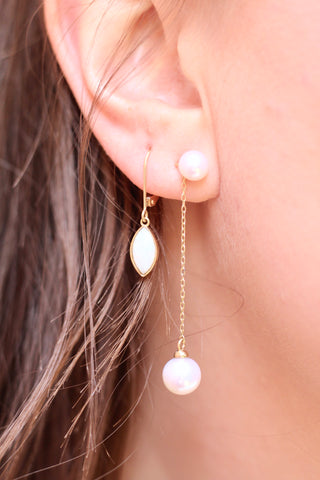 Afterglow Pearl Earrings