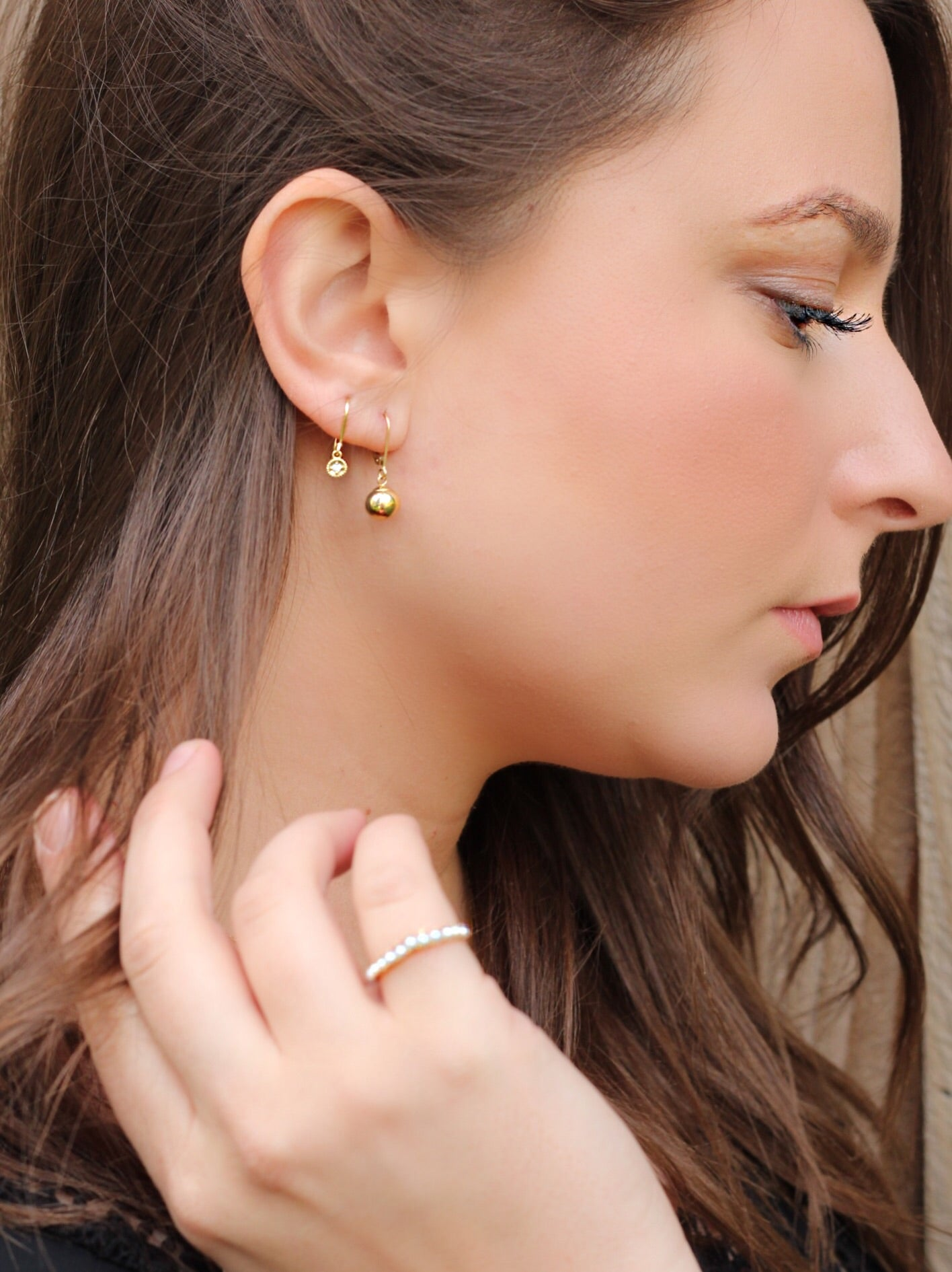 round stone to your earrings guide you for right teardrop face help choose the a shape with