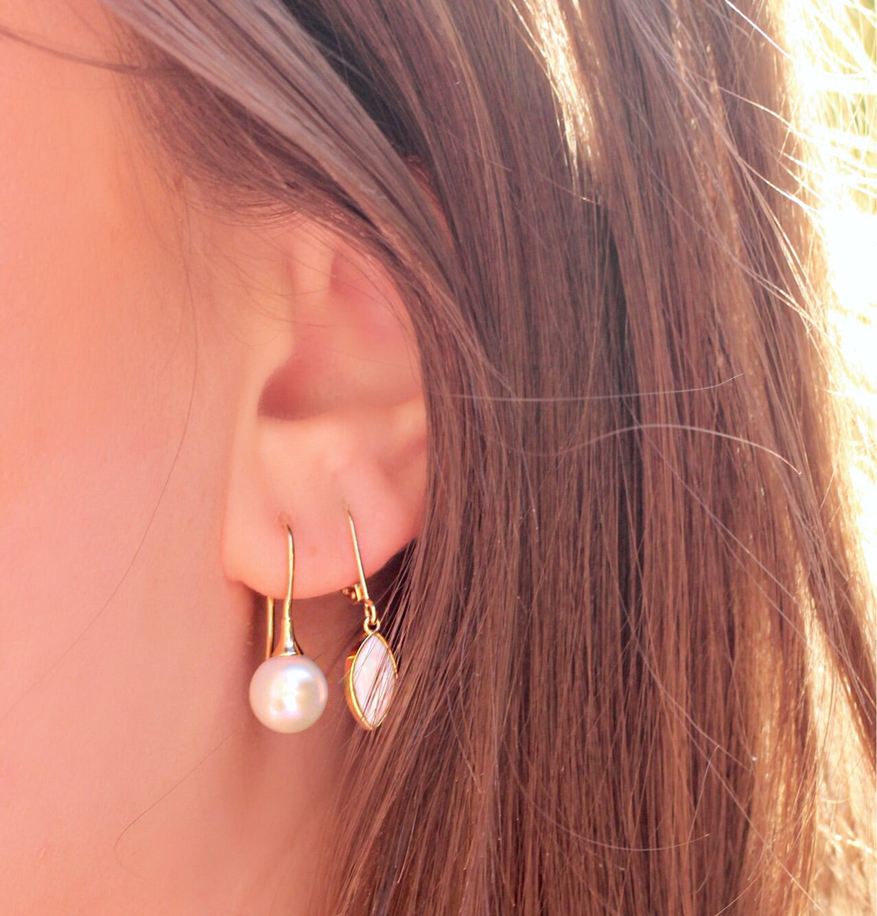 Stella Pearl Drop Earrings