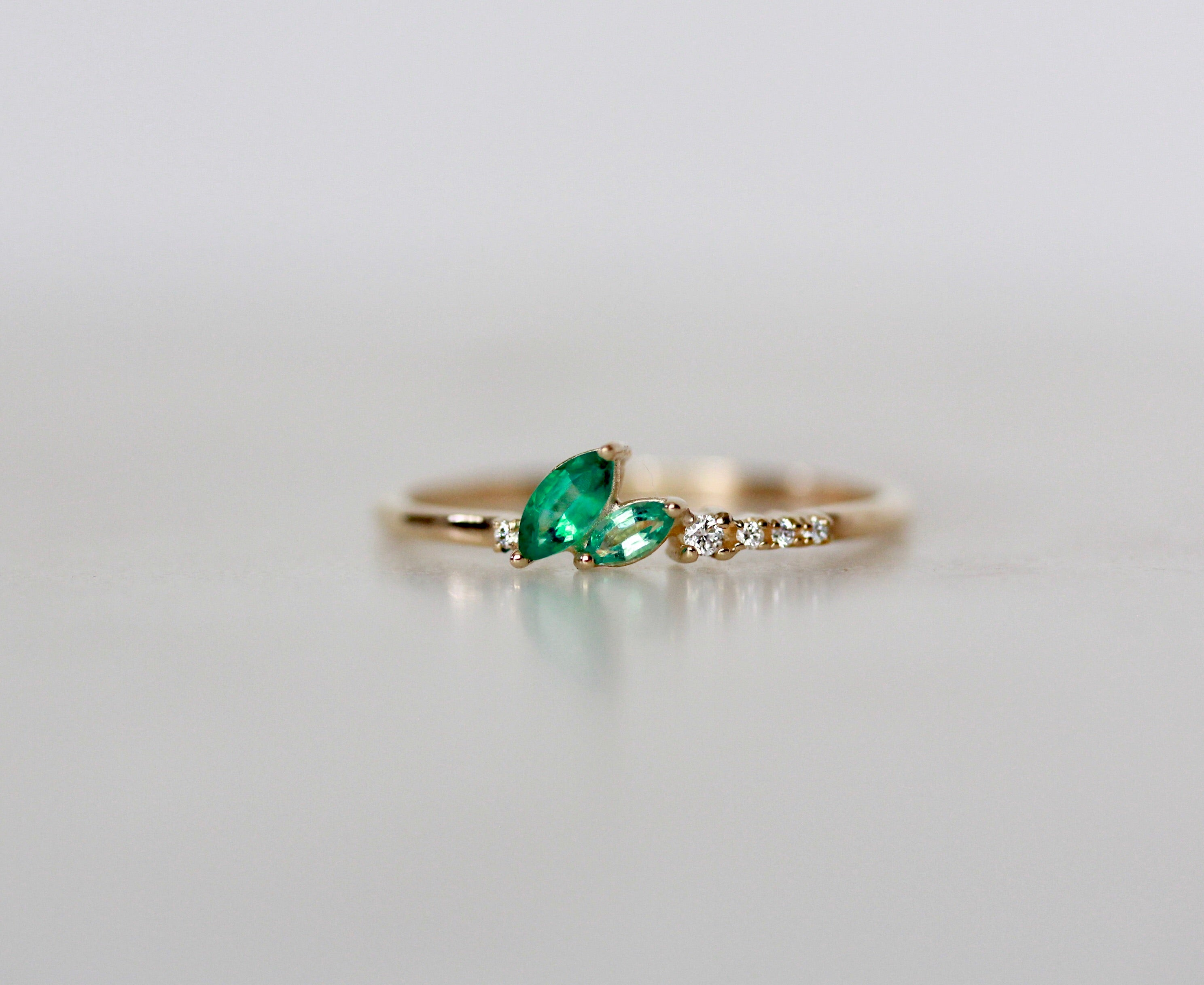 Emerald Vashon Ring