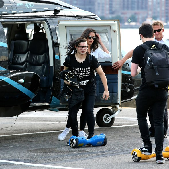 Celebrities' Love for Hoverboards