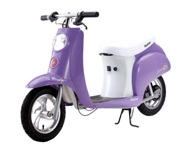 Razor Pocket Mod Betty Electric Ride-On Moped - WalkBye