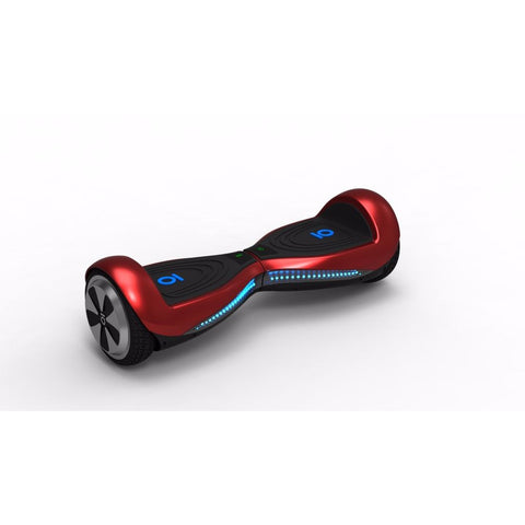 4WRD S3 Red Hoverboard 6.5 Inch~GPS~Mobile App~Remote Control~Bluetooth Speaker - WalkBye
