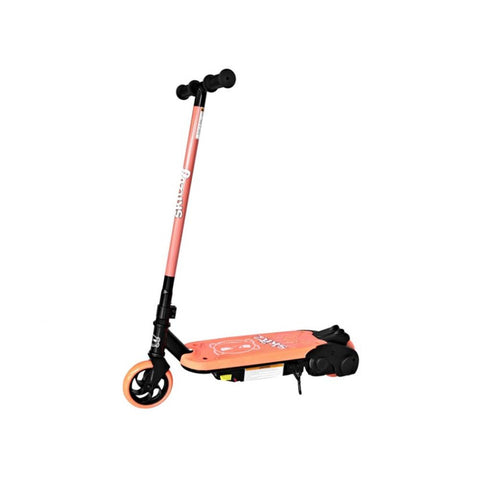 Neon Orange GoSkitz 0.8 Electric Scooter for Kids - WalkBye