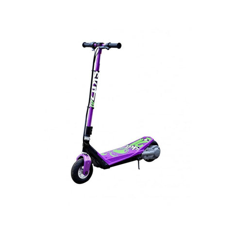 Foldable Purple GoSkitz 2.0 Kids Electric Scooter - WalkBye