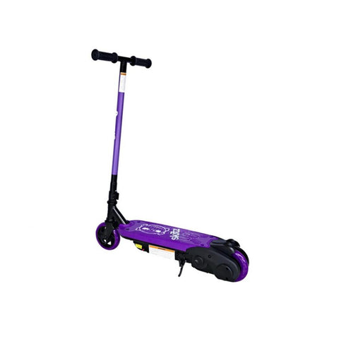 Purple 0.8 Go Skitz Electric Scooter for Children - WalkBye