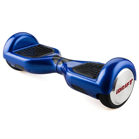 iDrift Blue 6.5 Inch Auto Counter-Balancing Mini Segway - WalkBye