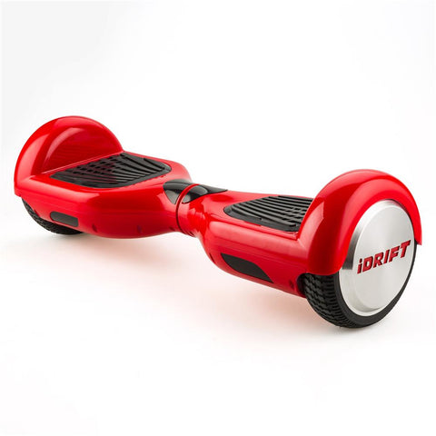 iDrift Red 6.5 Inch Auto Counter-Balancing Mini Segway - WalkBye