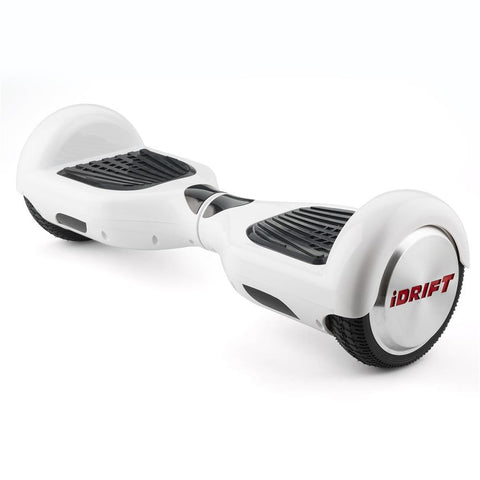 iDrift White 6.5 Inch Auto Counter-Balancing Mini Segway - WalkBye