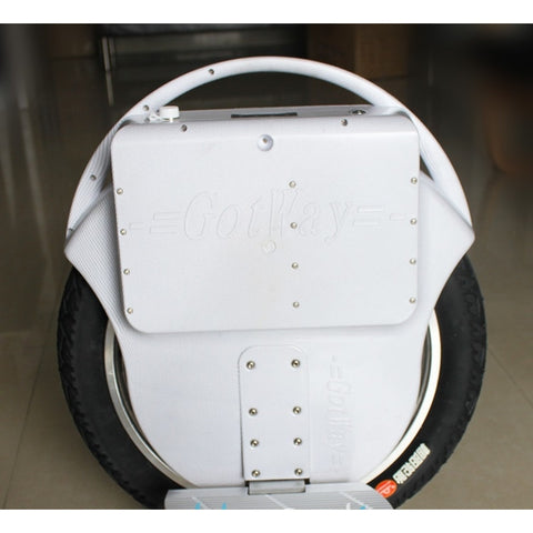 GotWay Msuper White Electric Unicycle - 18 Inch Wheel - WalkBye
