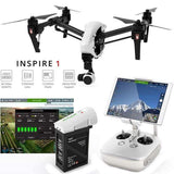 DJI Inspire 1 V2.0 Drone with Zenmuse X3 Gimbal camera - WalkBye