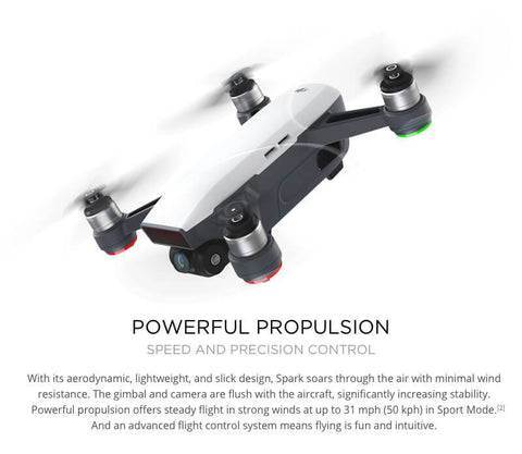 DJI Spark Fly More Combo New Mini Portable Drone - WalkBye