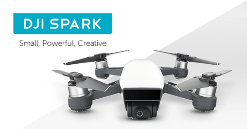 DJI Spark Drone New Mini Portable Drone - WalkBye