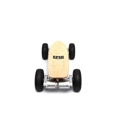 Epic Dominator 3200W Pro 4 Wheel Drive Motorized Skateboard - WalkBye