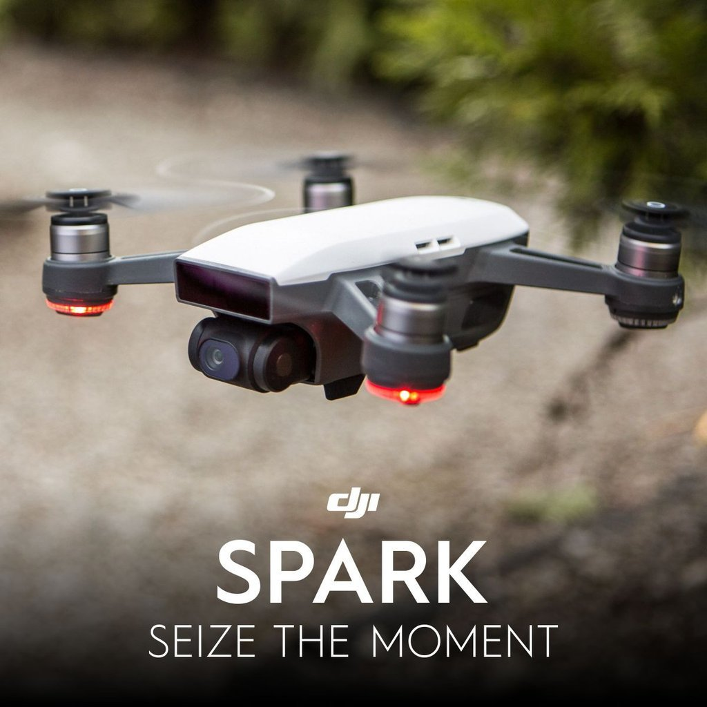 dji spark fly more combo new mini portable drone ebay. Black Bedroom Furniture Sets. Home Design Ideas