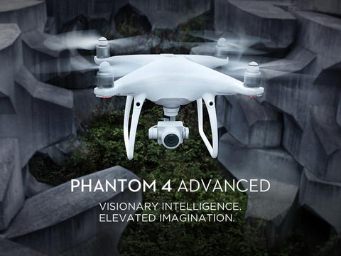 DJI Phantom 4 Adv Drone with 4K HD Camera 1 inch 20MP CMOS Lens - WalkBye