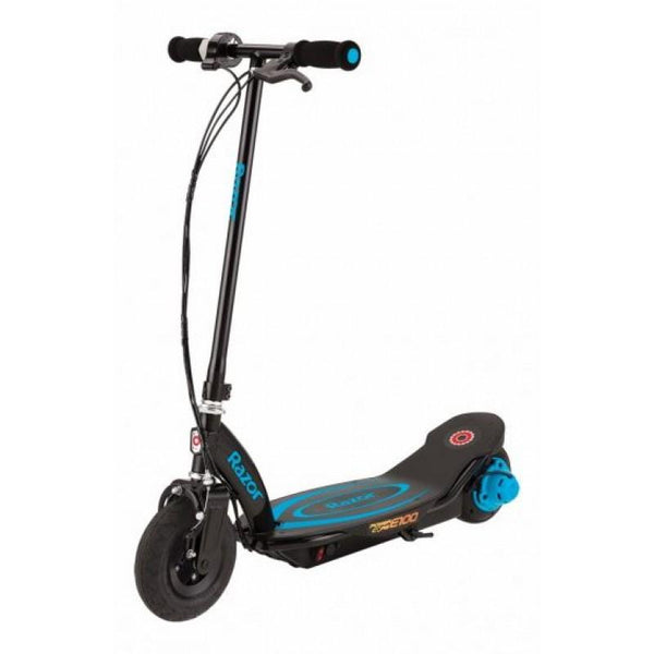 Razor Power Core E100 Electric Scooter Blue - WalkBye