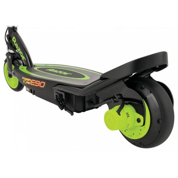 Razor Power Core E90 Electric Scooter Green Walk Bye
