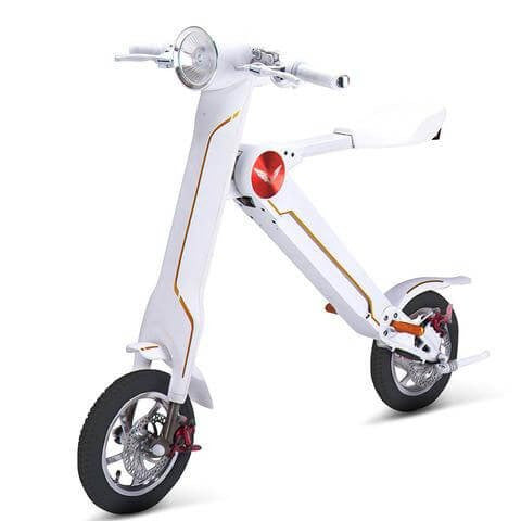 Skywalker Electric Scooter SkyBike~Free Shipping~White Colour