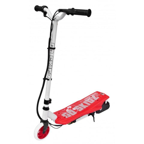 GoSkitz White/Red 1.0 Kids Electric Scooter For Kids - WalkBye