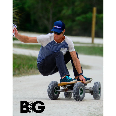 FiiK Big Daddy Electric Skateboard 1000W Lithium Battery \u2013 Walk Bye