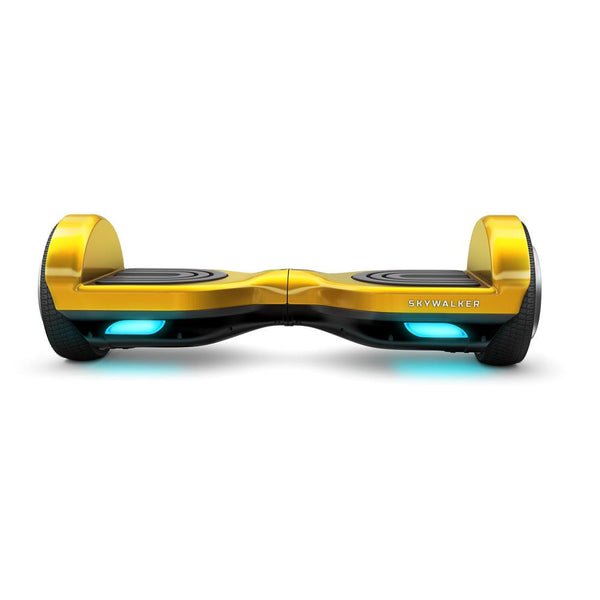 "SkyWalker ""Limited Edition"" Gold Color Mini Segway 6.5 Inch - WalkBye"