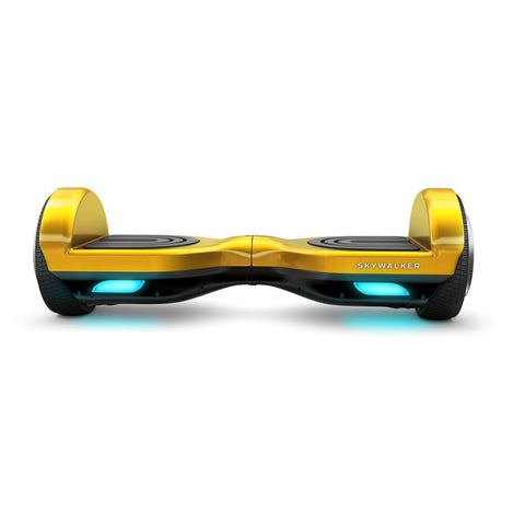 SkyWalker Gold Color Mini Segway 6.5 Inch - WalkBye