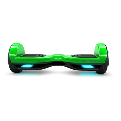 SkyWalker Green Mini Segway 6.5 Inch - WalkBye