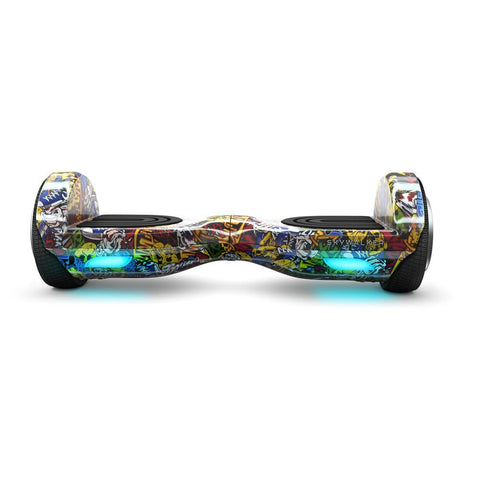 SkyWalker Graffiti Design Mini Segway 6.5 Inch - WalkBye