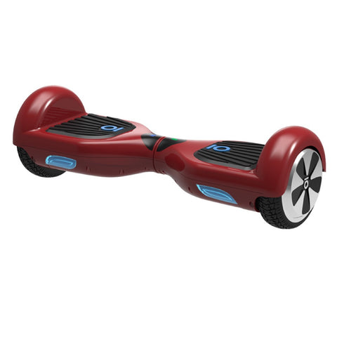 IO Chic S2 Red Color Hoverboard 6.5 Inch - WalkBye