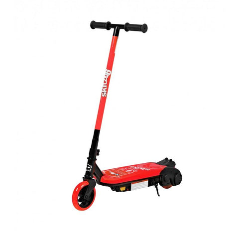 Neon Red GoSkitz 0.8 Electric Scooter for Kids - WalkBye