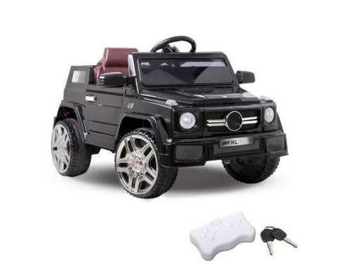 Kids Ride On Mini Jeep - Black - WalkBye