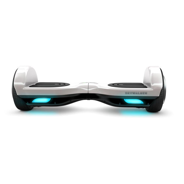 SkyWalker White Color 6.5 Inch Auto Counter-Balancing Mini Segway - WalkBye